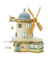300 Advantage card points. Sylvanian Families Field View Mill. Watch as your child has fun, choosing to play with any of the 3 floors in the mill. FREE Delivery on orders over £40.